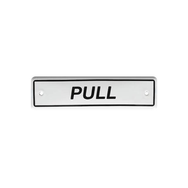 エナメルサイン PULL