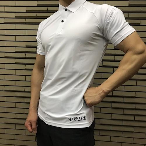 PRIDE OF INTERIOR クールアイス半袖ポロシャツ 021-01