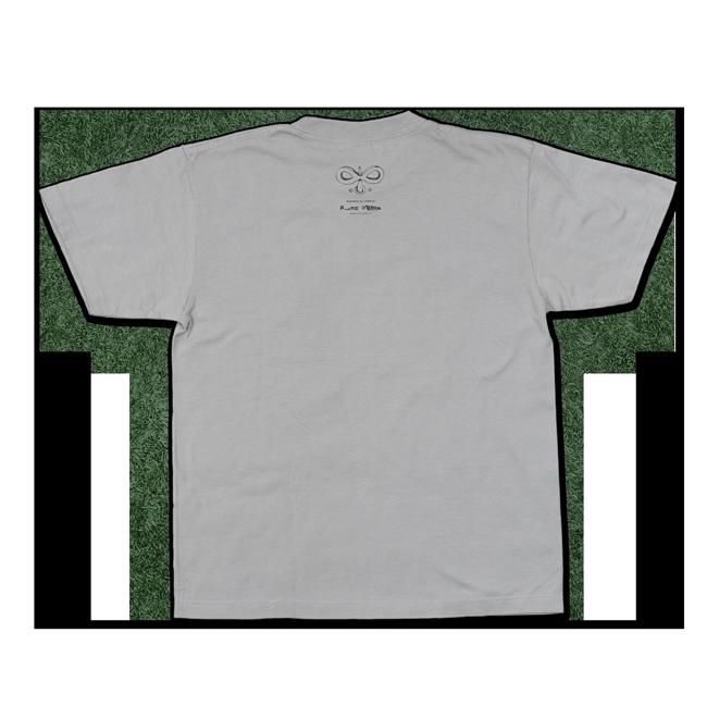 【残り僅か】sasakure.UK『トンデモ未来空奏図』Tシャツ シルバーグレー(メンズ) - 画像2