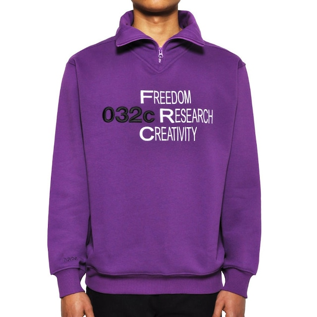 032c CHEST EMBROIDERY PURPLE