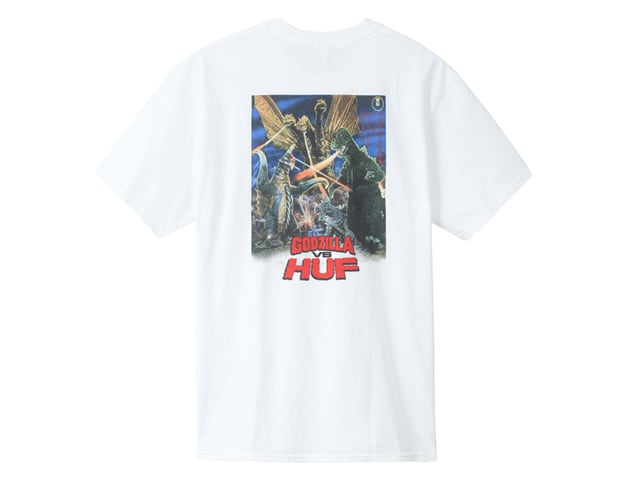HUF|DESTROY ALL MONSTERS S/S TEE