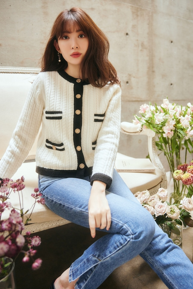 Classic Cable Knit Cardigan