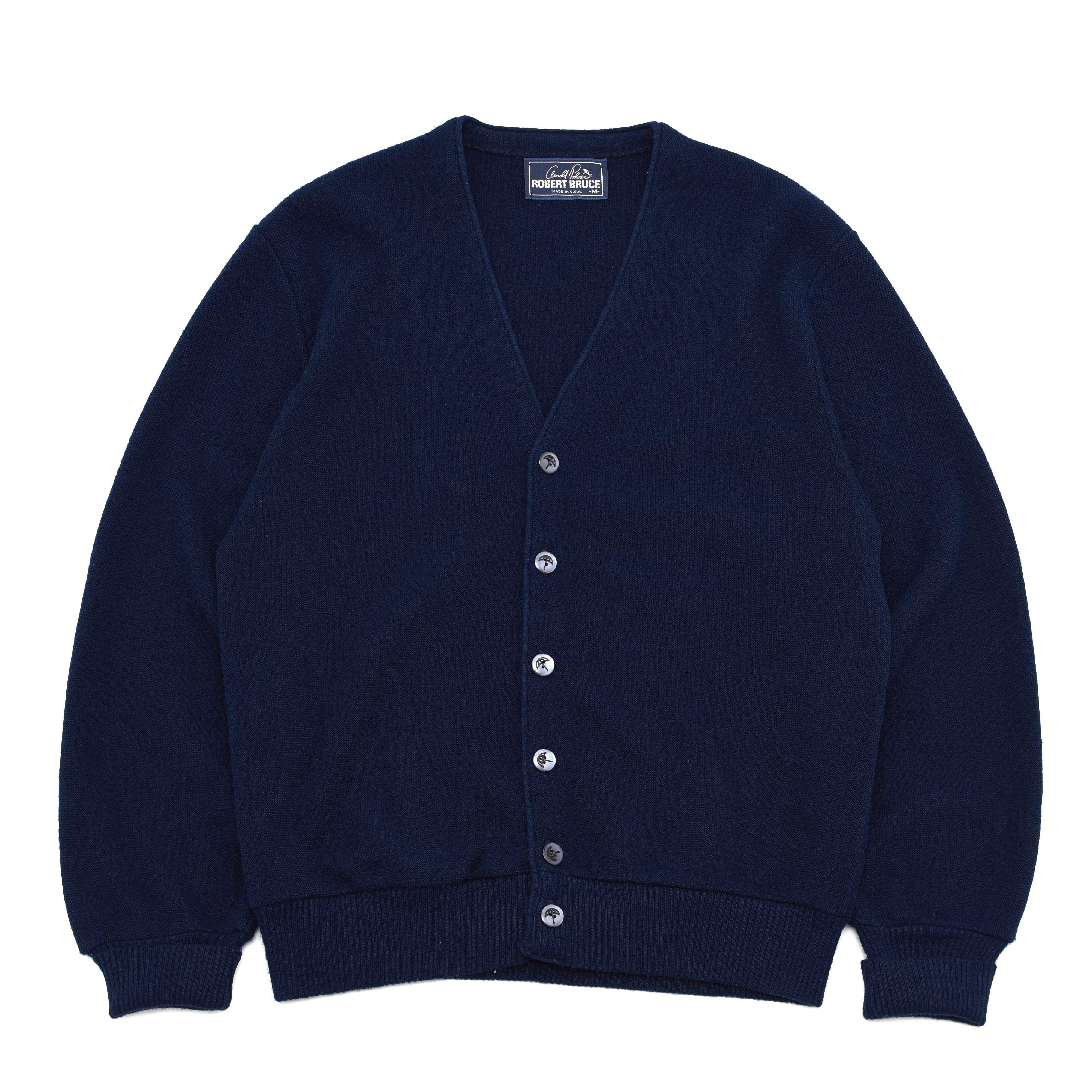 Made in USA Arnold Palmer knit cardigan