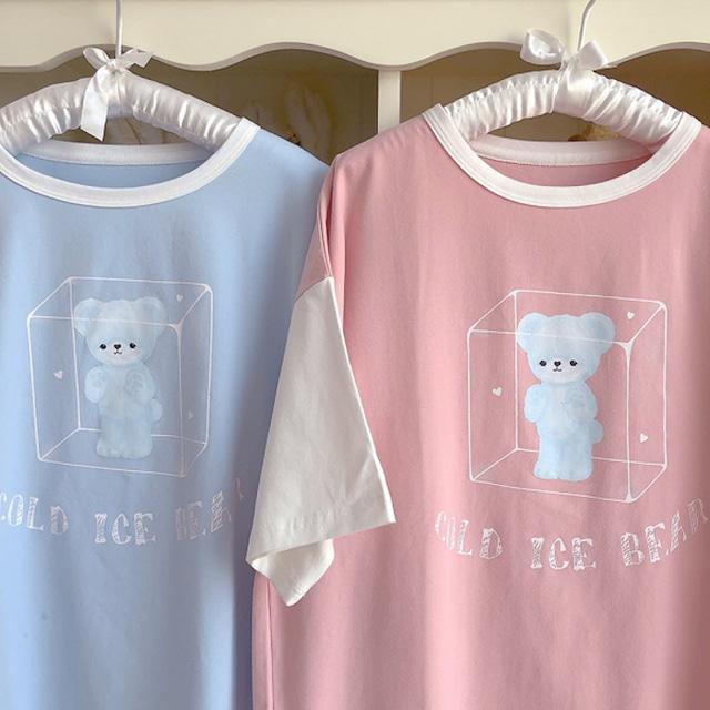 [2color] ice bear tshirt