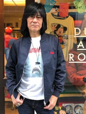 【ARCHIVE】【 LONSDALE × DUSTANDROCKS 】Embroidery Stadium Jacket