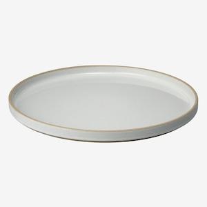 HASAMI PORCELAIN (ハサミポーセリン) Plate (Clear / グレー) 【300×21】HPM006