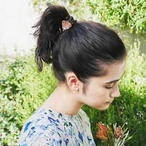 marble / ビー玉(Hair Elastic)/ 茶