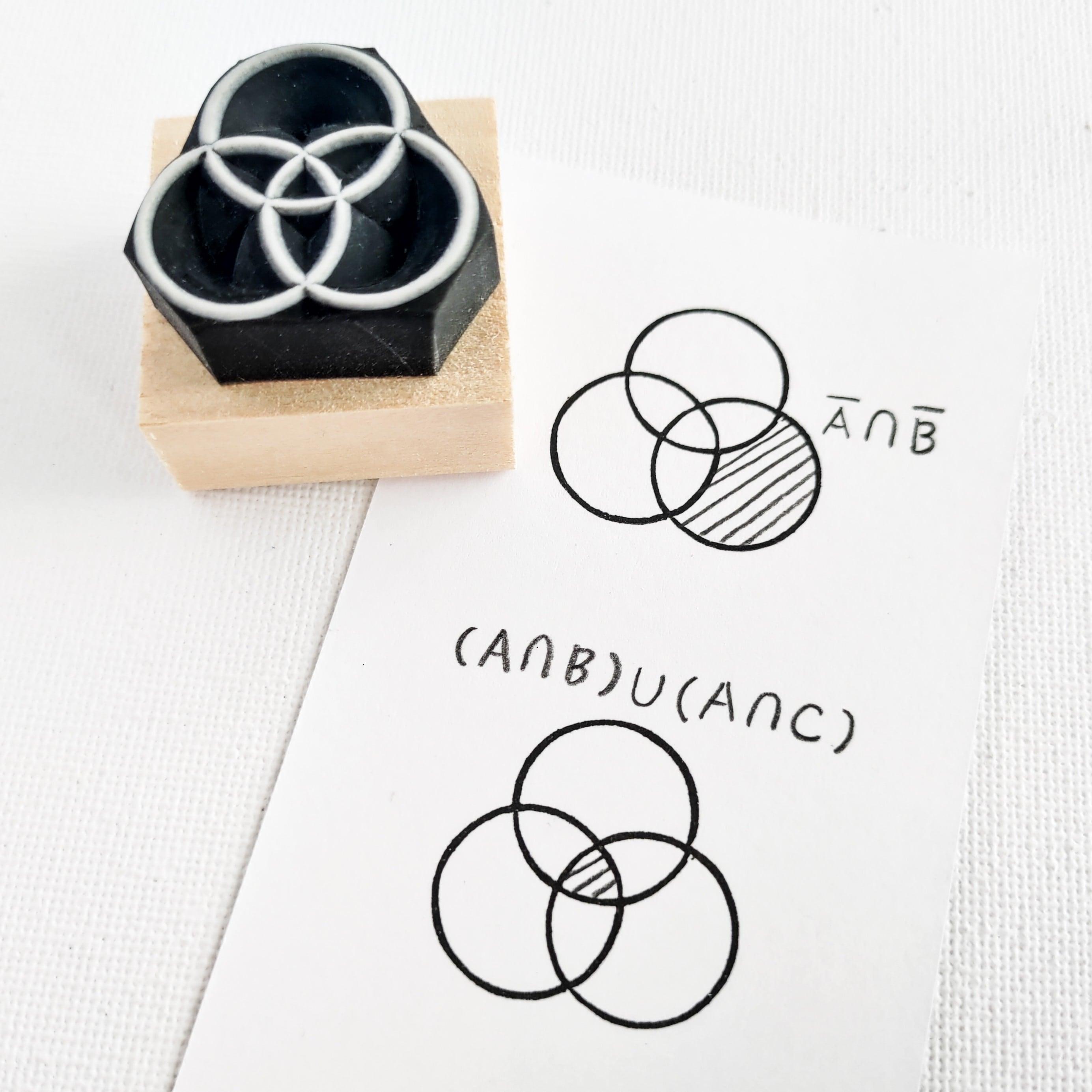 先生ハンコ「集合のベン図」 ②
