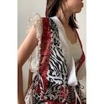 【RehersalL】ethnic frill blouse(light B) /【リハーズオール】エスニックフリルブラウス(ライト B)