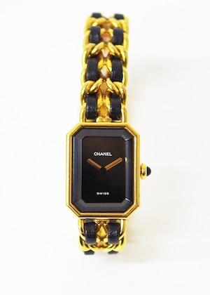CHANEL シャネル プルミエール SS クオーツ Mサイズ 腕時計 レディース