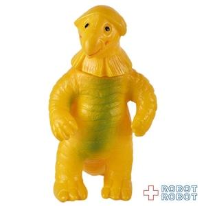ブルマァクミニソフビウルトラ怪獣 ゴキネズラ 黄色成形 緑スプレー