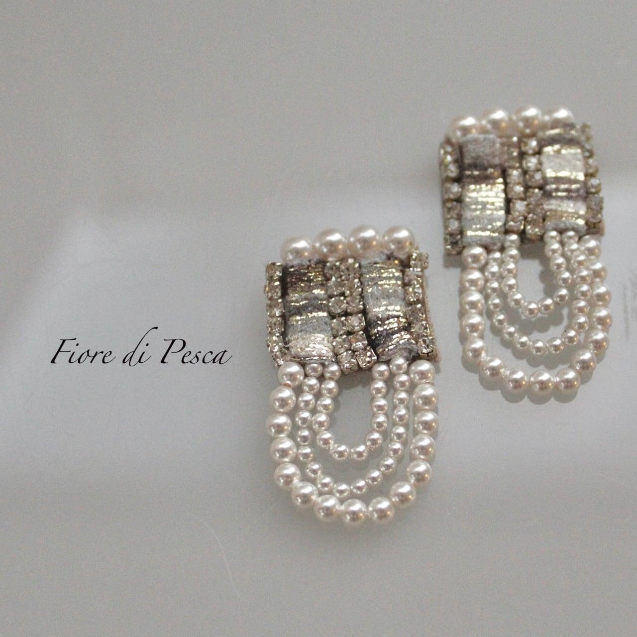 Beatrice Pierce(Earing) silver L
