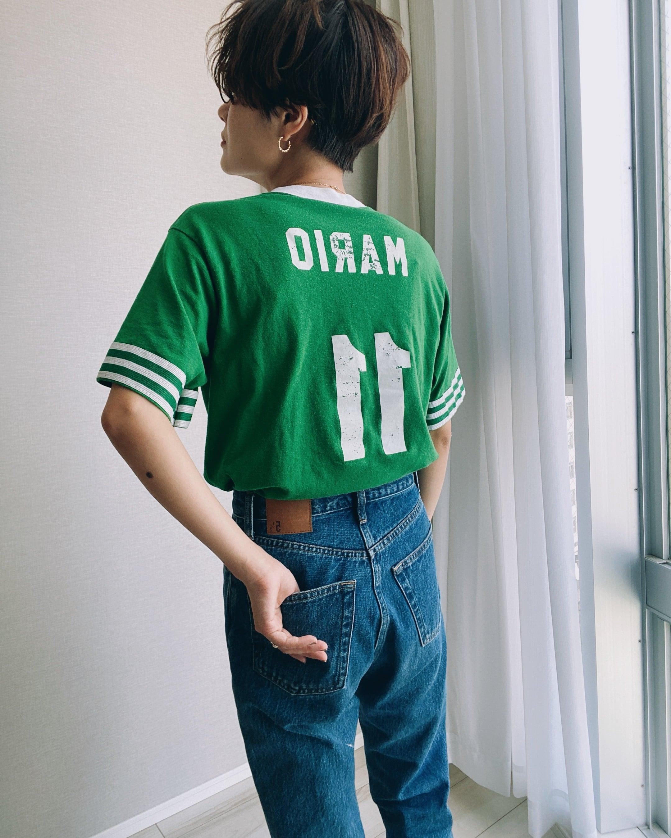 (CS315)SOFFE SHIRTS soccer T-shirt made in USA
