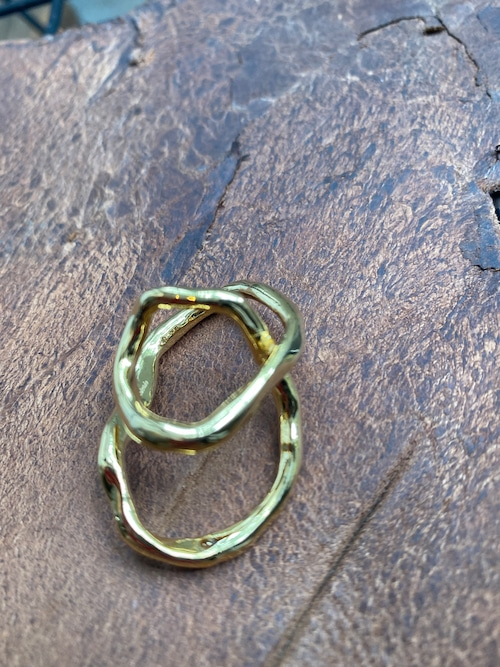 Soierie tangled earcuff ring