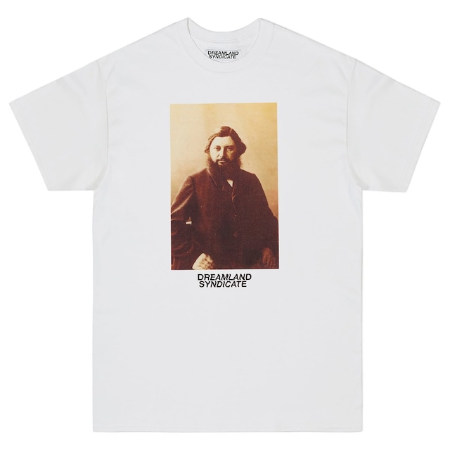 DREAMLAND SYNDICATE COURBET T-SHIRT WHITE