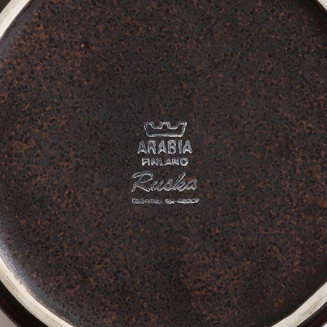ARABIA アラビア Ruska ルスカ ストーレナー(茶漉し)付きポット(横型) 北欧ヴィンテージ