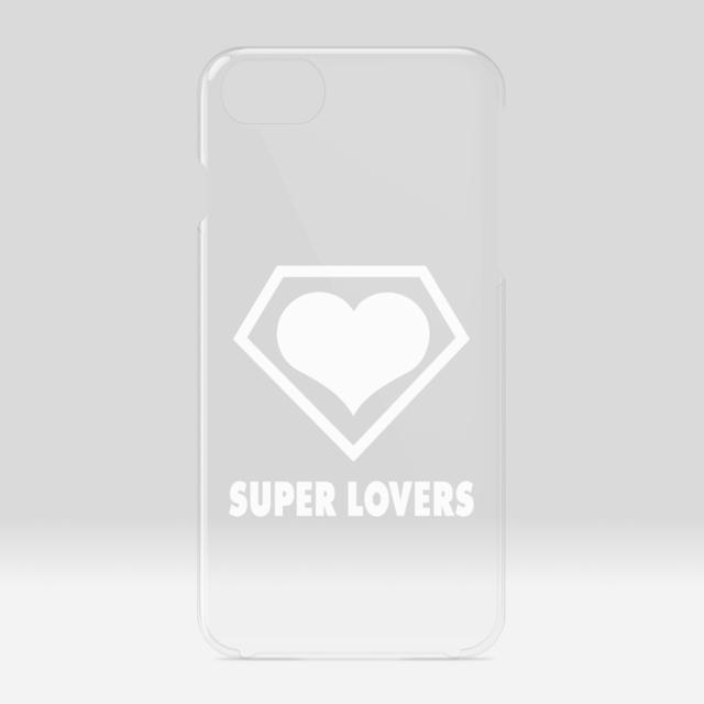 SUPER LOVERS logo/スーパーラヴァーズアイホンケース  6/7/8/SE2