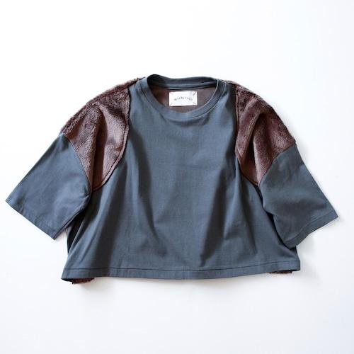 《michirico 2021AW》Boa Pullover / frostgray / L・XL・XXL
