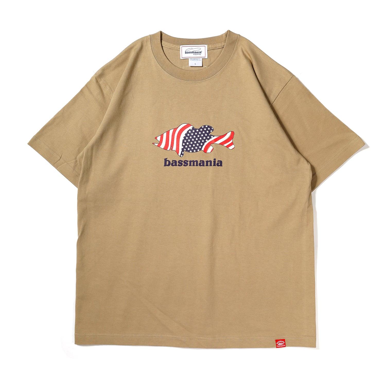 USA BASS Tシャツ[S.BEG]