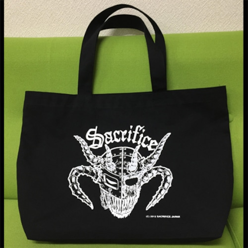 "SACRIFICE ""Crest Of Black"" トートバッグ"
