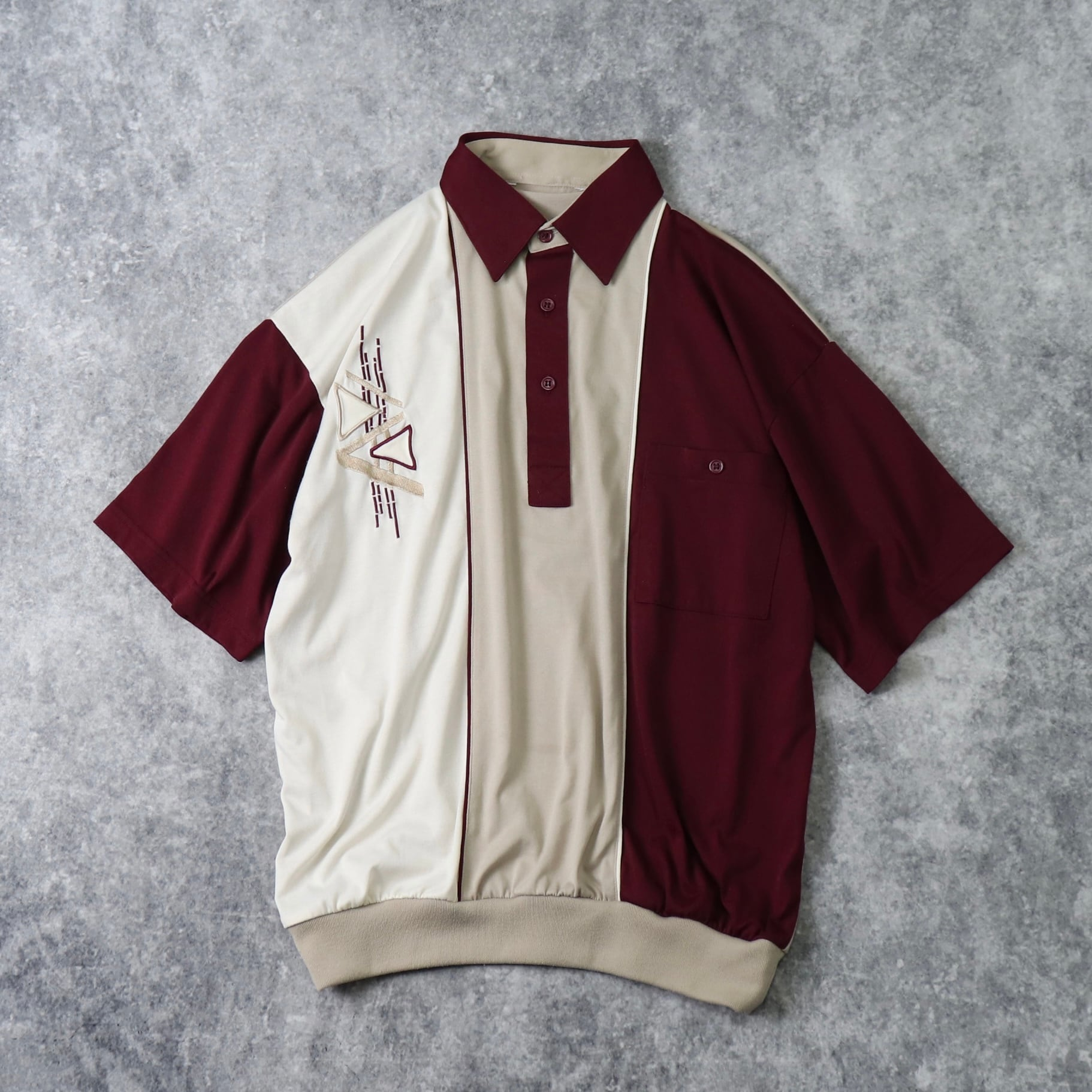 1970's  Designed   Pullover  Shirts A295