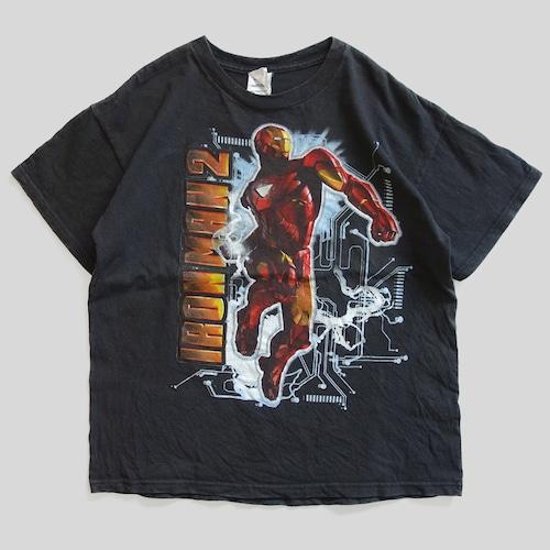 10年代 アイアンマン 2 映画 Tシャツ | マーベル アメコミ アメリカ ヴィンテージ 古着