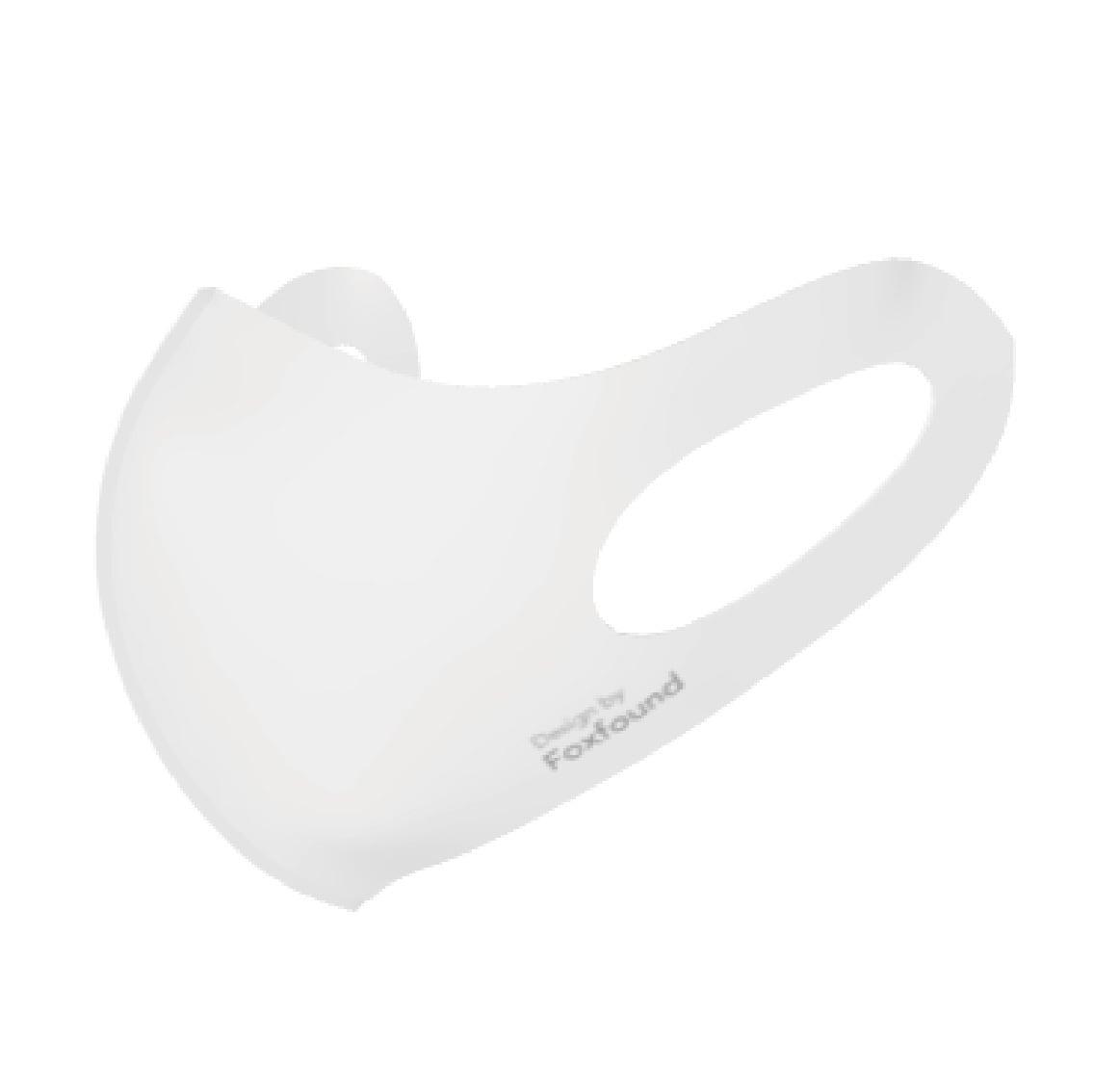 FOX FOUND 洗って使える マスク 50回洗濯OK 繰り返し使える UVカット 紫外線対策 伸縮素材でお顔にフィット 飛沫防止 耳が痛くなりにくい 日本製
