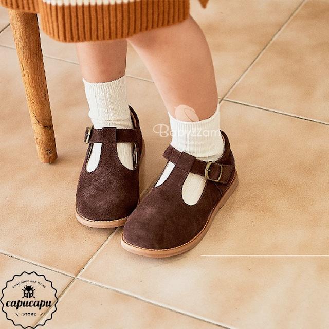«予約» t strap shoes Tストラップ 子供靴 キッズシューズ