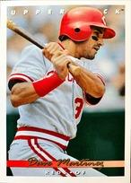 MLBカード 93UPPERDECK Dave Martinez #400 REDS