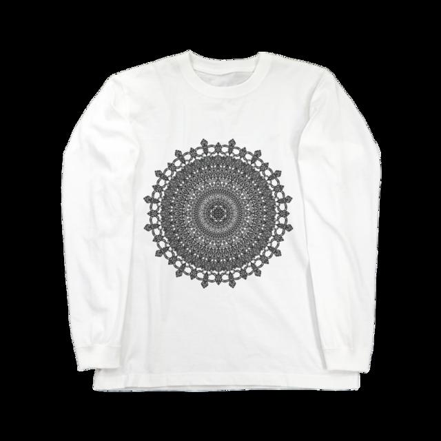 Mandala No.001ロングスリーブ ホワイト