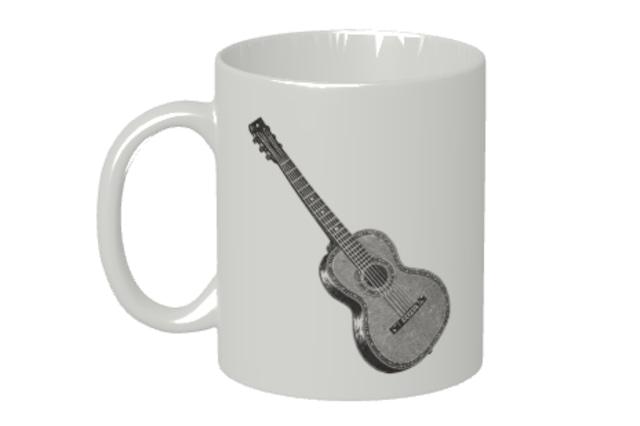 (名入れ無し)ギターのマグカップ