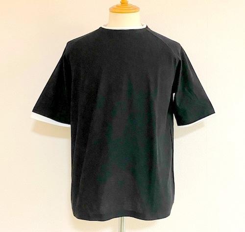 Ripple JQ Roll Neck T-shirts Black