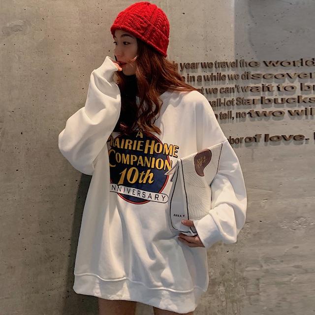 【トップス】アルファベットファッション韓国系bfパーカー42906199