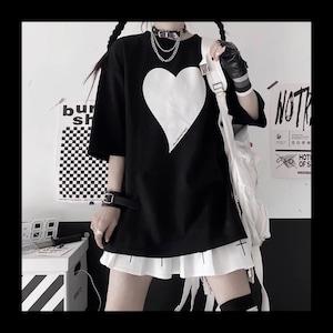 【お取り寄せ】ハートpt Tシャツ