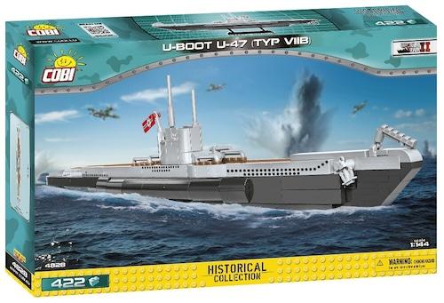 COBI #4828 VIIB型Uボート U-48