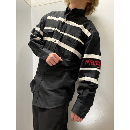 90's Wrangler スイッチング ウエスタンシャツ