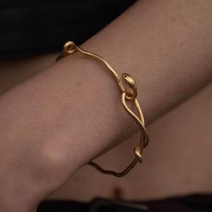 snake bracelet18kgp