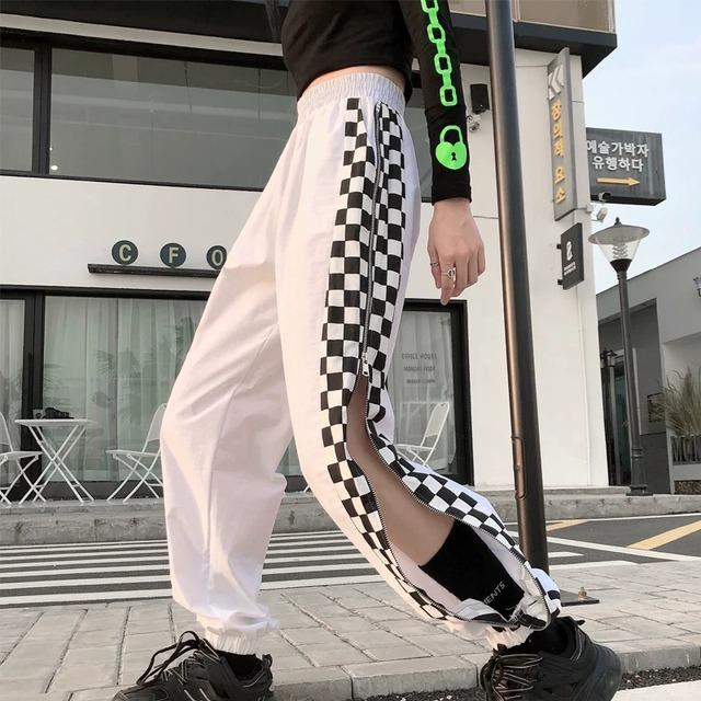 【ボトムス】チエーン付きトリート系カジュアルパンツ42916896