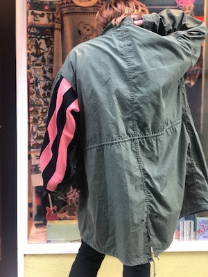 【remade:DUST AND ROCKS】M-65 fishtailparka