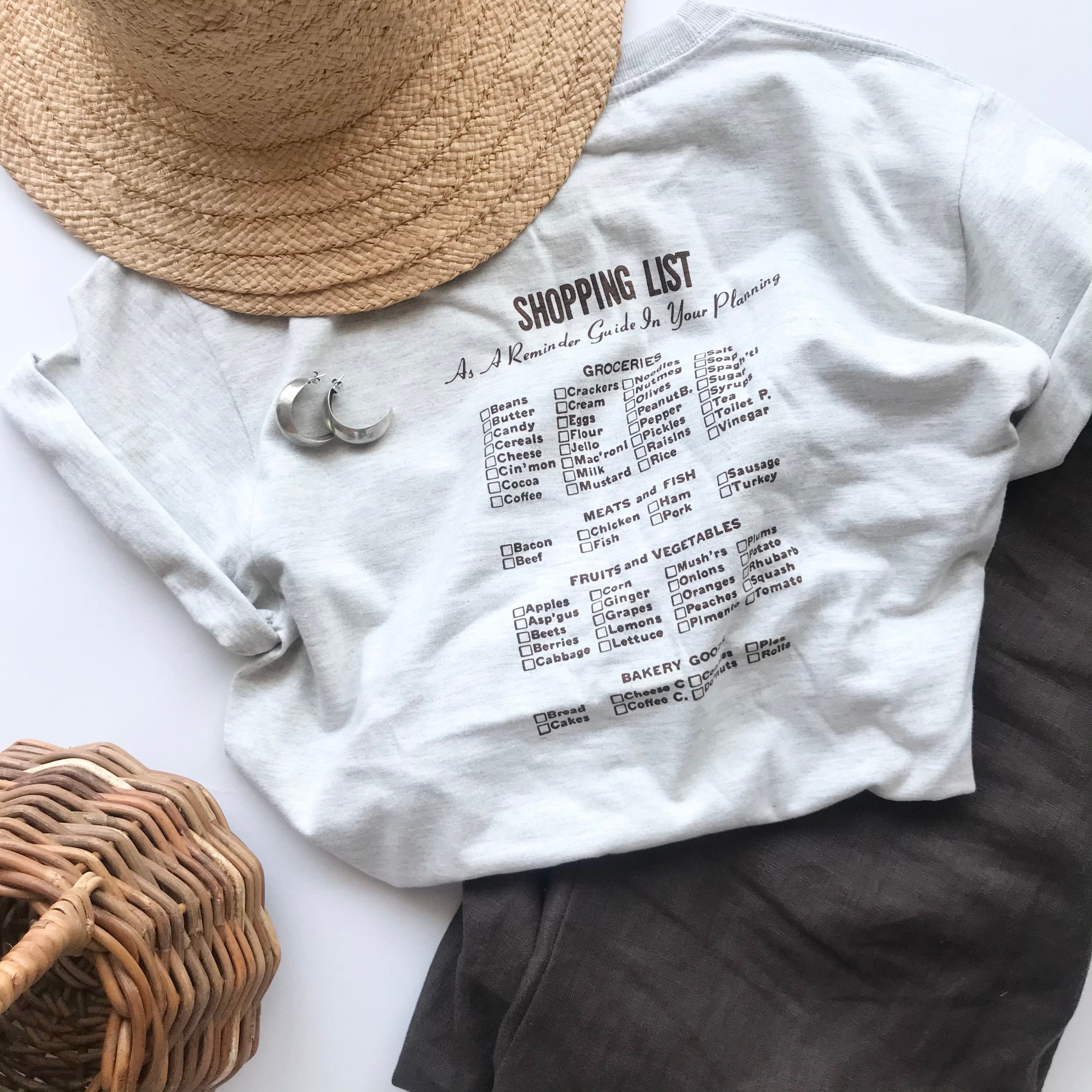 SHOPPING LIST S/S Tee Adult