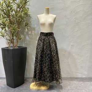Eimee Law/レオパードフレアスカート