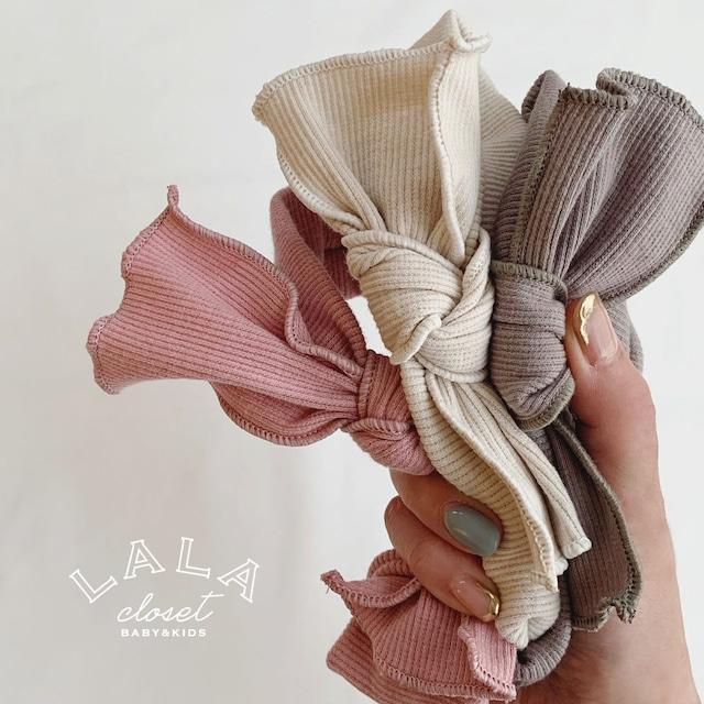 【即納】rib ribbon hair turban (ターバン)  BBTEGX90802810_106 : Bloombebe