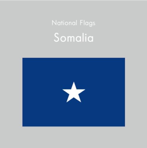 国旗ステッカー ソマリア