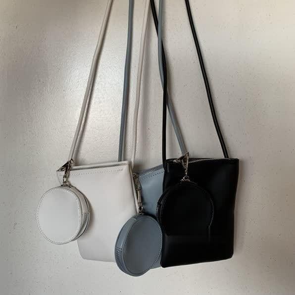 Pure color purse & bag(ピュアカラーパース&バッグ)b-176