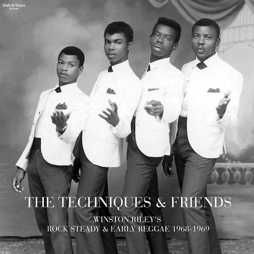 【LP】The Techniques & Friends - Winston Riley's Rock Steady & Early Reggae 1968-1969