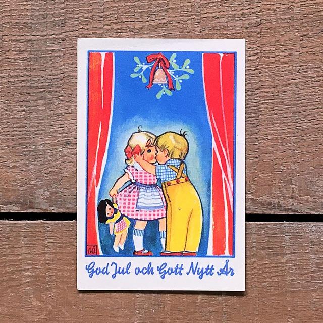 ミニ・クリスマスカード「Astrid Österling(アストリッド・オステリング)」《201211-06》
