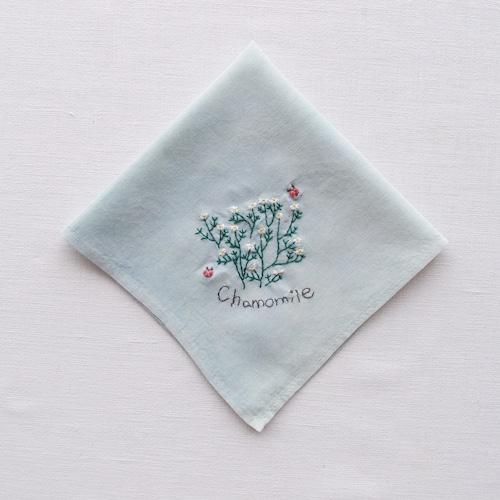 3つの小さな庭【カモミール】  Sunny Thread 刺繍キット