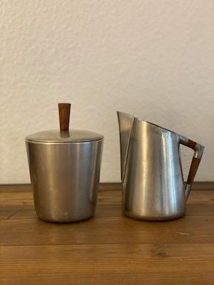 ヴィンテージ  Sugar and Milk Pot SET