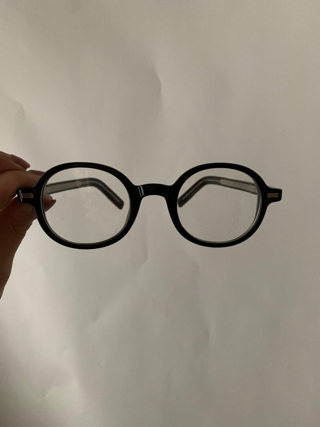 【asyu】round classic glasses