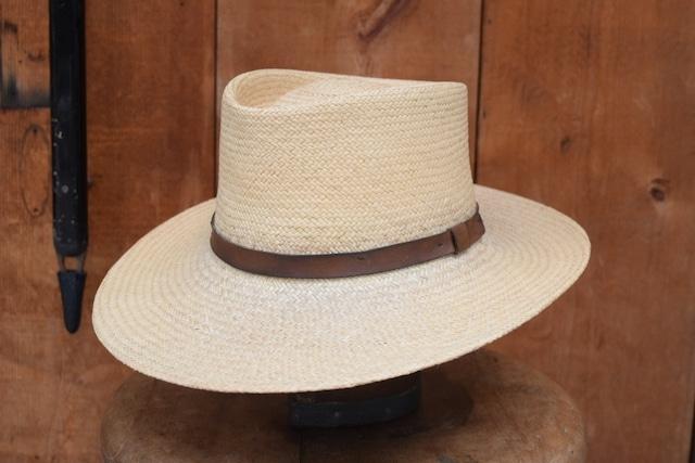 USED 70s Eddie Bauer Straw hat -Medium 01087